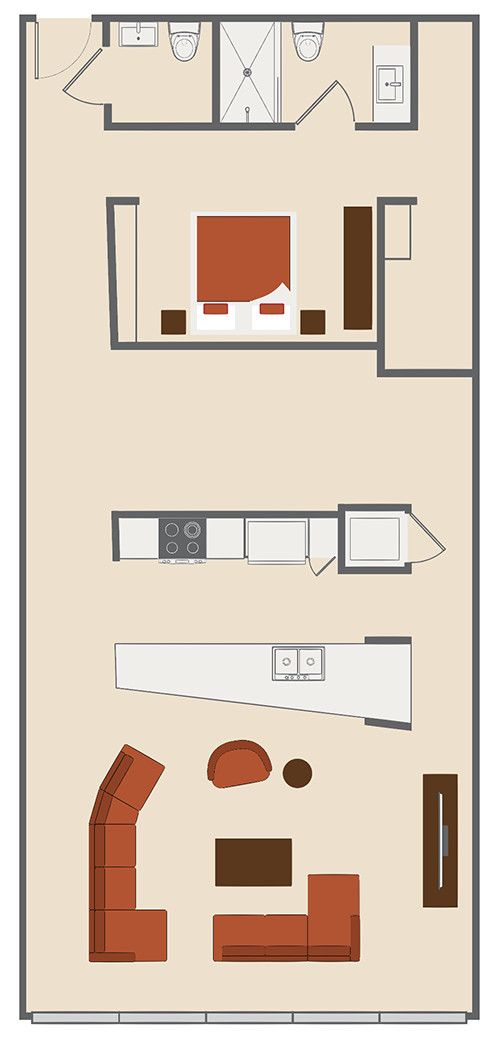 Company Floor Plan A Lofts At Merchants Row