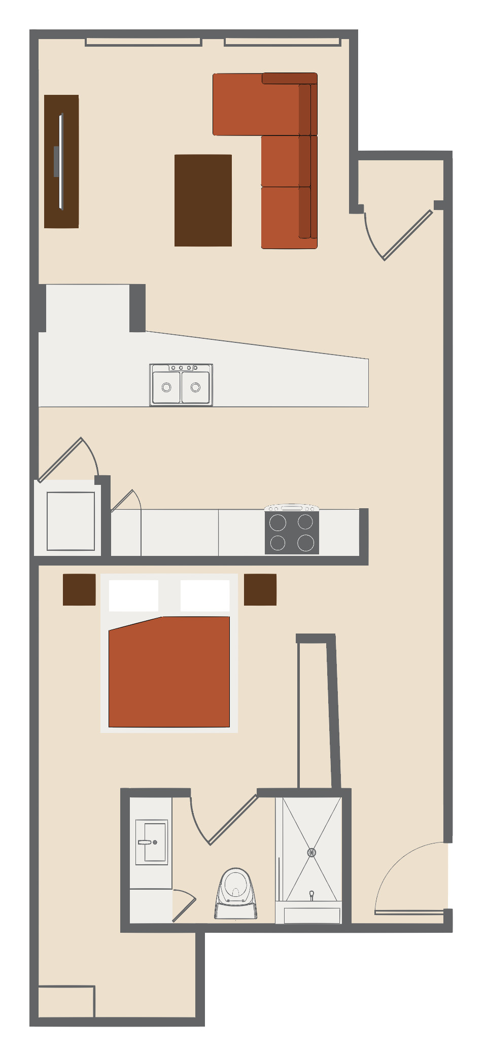 Company Floor Plan E Lofts At Merchants Row